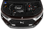 Car Stock 2021 Ds DS-7-Crossback Rivoli 5 Door SUV Engine  high angle detail view