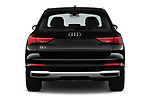 Straight rear view of a 2019 Audi Q3 Premium Plus 5 Door SUV stock images
