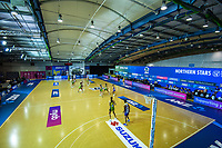 A general view of the ANZ Premiership netball match between Central Pulse and Northern Stars at Auckland Netball Centre in Auckland, New Zealand on Saturday, 25 July 2020. Photo: Dave Lintott / lintottphoto.co.nz