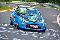 Race of Germany Nürburgring Nordschleife 2016 Qualifying ETCC 2016 #183 RAVENOL Motorsport Ford Fiesta Daniel Niermann (DEU) © 2016 Musson/PSP. All Rights Reserved.