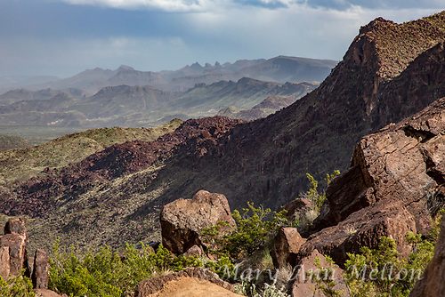 The view into Mexico from the River Road in Big Bend Ranch State Park