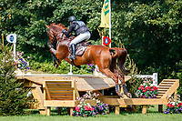 AUS-Sammi Birch rides Findus PFB during the Cross Country for the CCI5*-L. 2021 GBR-Chedington Bicton CCI5* International Horse Trial. Bicton Park, Devon. Great Britain. Saturday 4 September.  Copyright Photo: Libby Law Photography