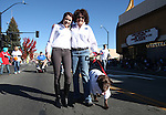 Nevada First Lady Kathleen Sandvoal and her daughter Maddy walk in the 75th annual Nevada Day parade in Carson City, Nev., on Saturday, Oct. 26, 2013.<br /> Photo by Cathleen Allison