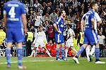 Real Madrid´s Crstiano Ronaldo during Champions League soccer match at Santiago Bernabeu stadium in Madrid, Spain. March, 10, 2015. (ALTERPHOTOS/Caro Marin)