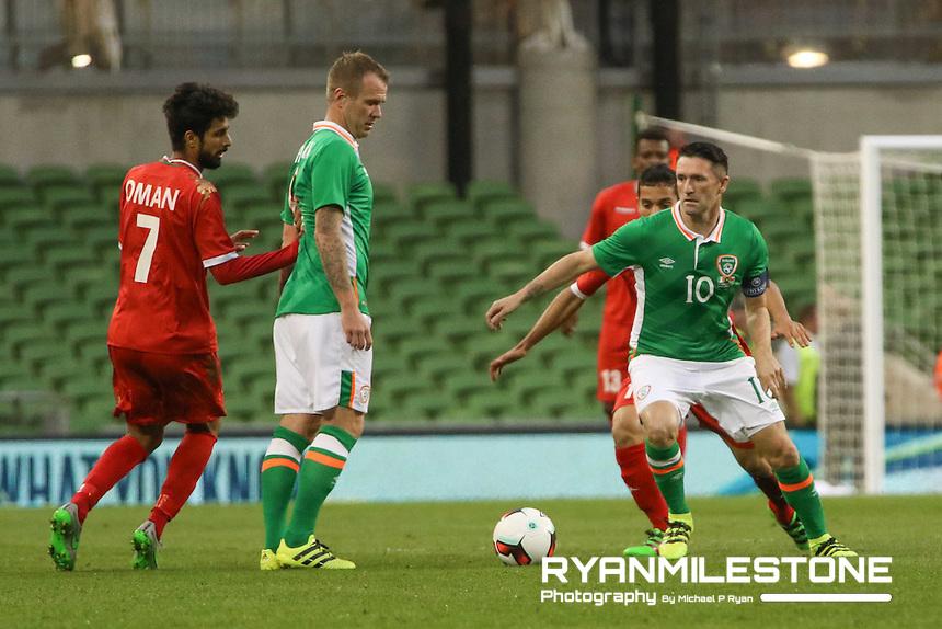 Three International Friendly,<br /> Wednesday August 31st 2016<br /> Republic of Ireland v Oman,<br /> Aviva Stadium, Dublin,<br /> Credit: Michael P Ryan
