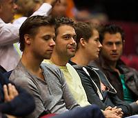 15-sept.-2013,Netherlands, Groningen,  Martini Plaza, Tennis, DavisCup Netherlands-Austria, fourth rubber,   <br /> Photo: Henk Koster