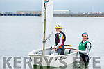 Eimer and Riona Moriarty from Fenit,  back in the water at the Tralee Sailing Club on Tuesday and looking forward to WIORA sailing championships which have been rescheduled for September.