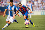 Paco Alcacer of FC Barcelona in action during their La Liga match between Deportivo Leganes and FC Barcelona at the Butarque Municipal Stadium on 17 September 2016 in Madrid, Spain. Photo by Diego Gonzalez Souto / Power Sport Images