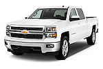 Front three quarter view of a 2014 Chevrolet Silverado 1500 LT 2WD Crew Cab