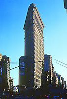 New York City: Flat Iron Building 1902. D. H. Burnham & Co.  Photo '78.