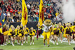 Minnesota Golden Gophers cheerleaders in action during the Meineke Car Care Bowl game of Texas between the Texas Tech Red Raiders and the Minnesota Golden Gophers at the Reliant Stadium in Houston, Texas. Texas defeats Minnesota 34 to 31.