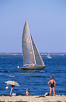 Europe/France/Aquitaine/33/Gironde/Bassin d'Arcachon/Arcachon: La plage de la jetée Thiers