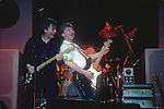 David Gilmour, Mick Ralphs, Chris Slade, 1983, David Gilmour 1984 Beacon Theater , NY, Mick Ralphs on Guitar