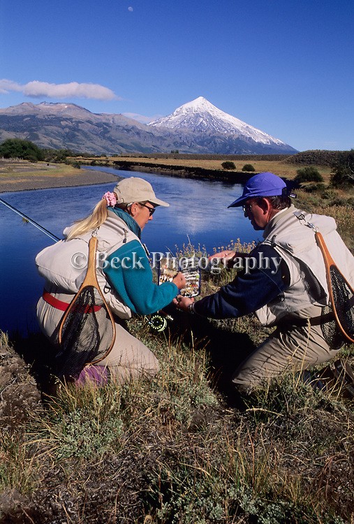 Choosing the right fly for the Rio Malleo, Argentina