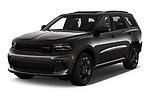 2021 Dodge Durango GT 5 Door SUV Angular Front automotive stock photos of front three quarter view