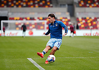 17th October 2020; Brentford Community Stadium, London, England; English Football League Championship Football, Brentford FC versus Coventry City; Callum O'Hare of Coventry City during shooting practise