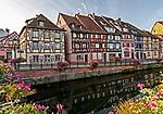 Morning on the Quai de la Poissonnerie, in Colmar, Alsace