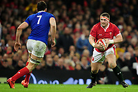 Wyn Jones of Wales in action during the Guinness Six Nations Championship Round 3 match between Wales and France at the Principality Stadium in Cardiff, Wales, UK. Saturday 22 February 2020