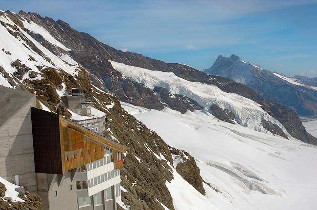 Jungfraujoch Top Of Europe - Bernese Oberland Alps - Switzerland
