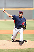 Jose Flores - Cleveland Indians - 2010 Instructional League.Photo by:  Bill Mitchell/Four Seam Images..