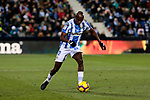 CD Leganes' Allan Romeo Nyom during La Liga match between CD Leganes and Getafe CF at Butarque Stadium in Leganes, Spain. December 07, 2018. (ALTERPHOTOS/A. Perez Meca)