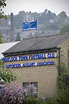 Matlock Town 0 Eastwood Town 3, 09/10/2010. Causeway Lane, FA Cup 3rd qualifying round. The Matlock Town supporters' association building adjacent to the ground pictured before the FA Cup 3rd qualifying round tie between Matlock Town and Eastwood Town at Causeway Lane, Matlock. The visitors from Nottingham who play one division higher than Matlock won by three goals to nil to move to within one round of the FA Cup 1st round proper. The match was watched by 655 spectators. Photo by Colin McPherson.