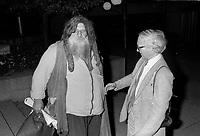 FILE PHOTO -  <br /> Le grand antonio au<br /> party de cloture du Festival des Films du Monde, le 1er septembre 1986.<br /> <br /> PHOTO : Pierre Roussel<br />  - Agence Quebec Presse
