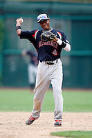 August 8, 2009:  J.D. Williams (4) of the Baseball Factory team during the Under Armour All-America event at Wrigley Field in Chicago, IL.  Photo By Mike Janes/Four Seam Images