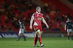 Scarlets center Jonathan Davies.<br /> Celtic League<br /> Scarlets v Munster<br /> <br /> 01.03.14<br /> <br /> ©Steve Pope-SPORTINGWALES