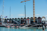 13th March 2021; Waitemata Harbour, Auckland, New Zealand;  Emirates Team New Zealand launch Te Rehutai on day three of the America's Cup presented by Prada.