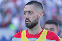 Carson, CA - Sunday, February 8, 2015 Clint Dempsey (8) of the USMNT. The USMNT defeated Panama 2-0 during an international friendly at the StubHub Center