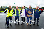 At the Ballymac Vintage rally fundraiser Help Rosie Bloom on Sunday, l to r: Paul Horan, George and Joan Glover, Garreth Foley and Tony Hehir.