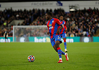 27th September 2021;  Selhurst Park, Crystal Palace, London, England; Premier League football, Crystal Palace versus Brighton & Hove Albion: Tyrick Mitchell of Crystal Palace