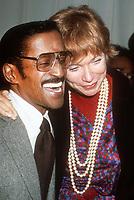 Sammy Davis Jr. Shirley MacLaine 1985, Photo By John Barrett/PHOTOlink