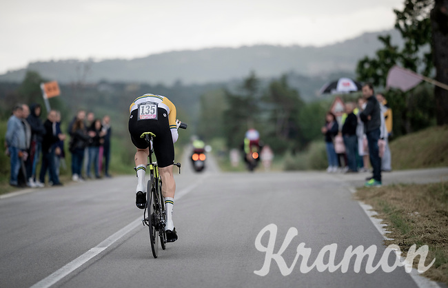 Australian TT Champion Luke Durbridge (AUS/Mitchelton-Scott)<br /> <br /> Stage 9 (ITT): Riccione to San Marino (34.7km)<br /> 102nd Giro d'Italia 2019<br /> <br /> ©kramon