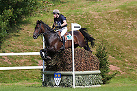 4th September 2021; Bicton Park, East Budleigh Salterton, Budleigh Salterton, United Kingdom: Bicton CCI 5* Equestrian Event; Angus Smales riding ESI Pheonix at The Clinton Devon Estates Cliffhanger 14C,