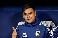 Argentina's Paulo Bruno Dybala  during the International Friendly match on 22th March, 2019 in Madrid, Spain. (ALTERPHOTOS/Manu R.B.)<br /> Madrid 22-03-2019 <br /> Football Friendly Match <br /> Argentina Vs Venezuela <br /> foto Alterphotos/Insidefoto <br /> ITALY ONLY