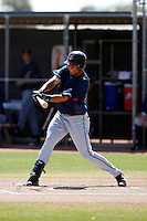 Delvi Cid  -  Cleveland Indians - 2009 extended spring training.Photo by:  Bill Mitchell/Four Seam Images