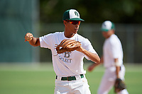Sean Bencosme (53) during the WWBA World Championship at the Roger Dean Complex on October 10, 2019 in Jupiter, Florida.  Sean Bencosme attends West Broward High School in Pembroke Pines, FL and is Uncommitted.  (Mike Janes/Four Seam Images)