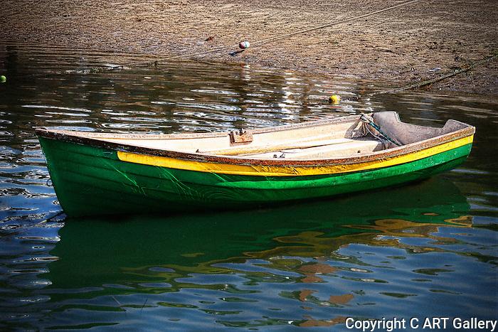 Rowboat, Balboa Island, CA.