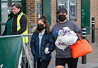 Shoppers at Morrisons during the Coronavirus pandemic at Sidcup, Kent, England on 2 April 2020. Photo by Alan Stanford.