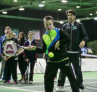Rotterdam, The Netherlands, Februari 11, 2016,  ABNAMROWTT, <br /> Photo: Tennisimages/Henk Koster