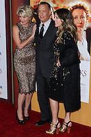 "BURBANK, CA - DECEMBER 09: Emma Thompson, Tom Hanks, Rita Wilson arriving at the U.S. Premiere Of Disney's ""Saving Mr. Banks"" held at Walt Disney Studios on December 9, 2013 in Burbank, California. (Photo by Xavier Collin/Celebrity Monitor)"