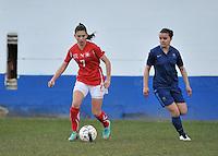 Switzerland U19 - France U19 : Carmen Pulver.foto DAVID CATRY / Nikonpro.be