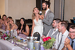 Anna & Zachery's pandemic delayed wedding at The Benicia Veteran's Hall.