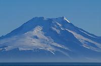 Mount Beerenberg Haakon VII Toppen Volcano, last eruption 1985, Jan Mayen Island, Norwegian sea, Arctic, North Atlantic