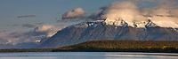 Mount Katolinat, Naknek lake, Katmai National Park, Alaska.
