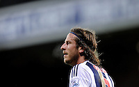 Jonas Olsson of West Bromwich Albion  during the Barclays Premier League match between West Bromwich Albion and Swansea City at The Hawthorns on the 2nd of February 2016