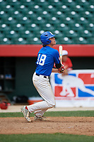 Jack Crowder (18) during the Dominican Prospect League Elite Underclass International Series, powered by Baseball Factory, on August 1, 2017 at Silver Cross Field in Joliet, Illinois.  (Mike Janes/Four Seam Images)