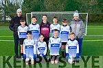 The International Kenmare team that played Castleisland AFC in the u12 Division 1 in Georgie O'Callaghan park on Saturday